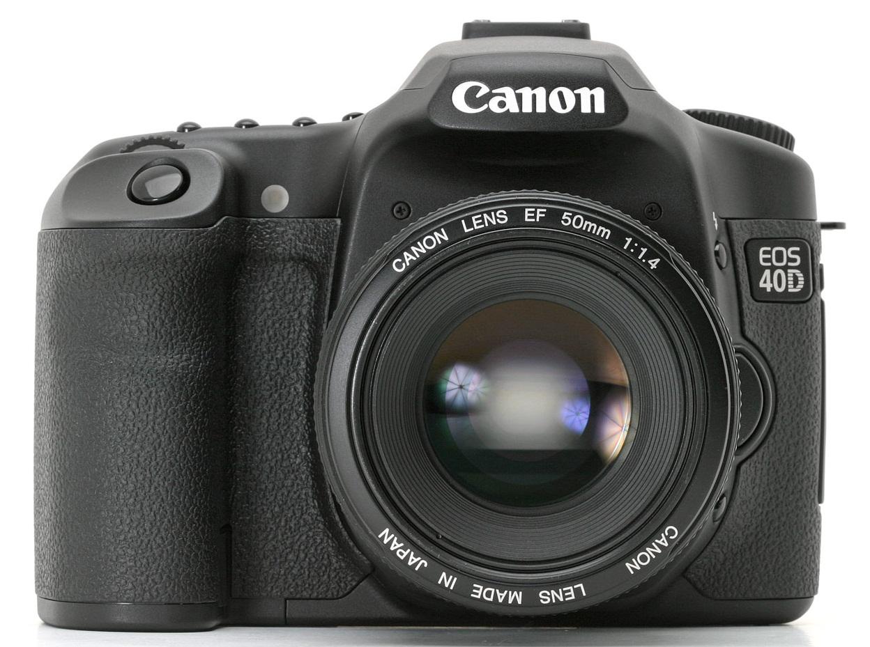 Aparat foto Canon EOS 40D, grip şi obiectiv. DSLR la super preţ!
