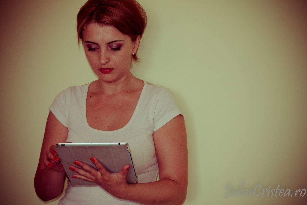 Gabriela Dinu, psiholog de meserie
