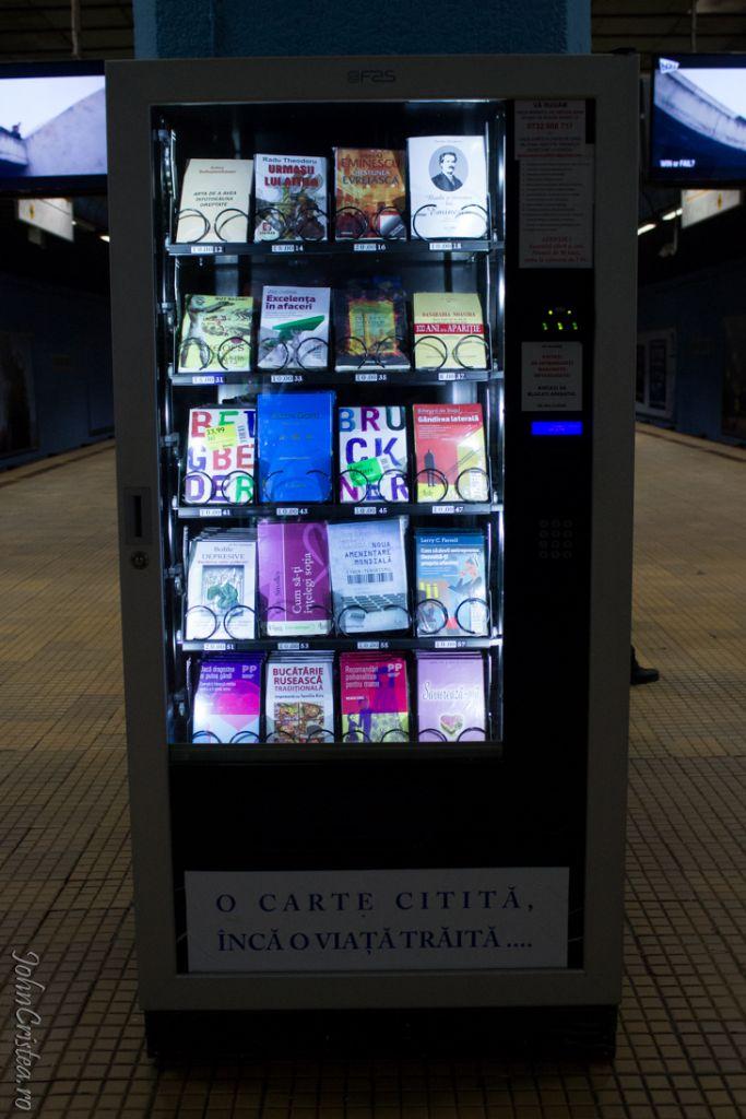 Cultură în aşteptarea metroului