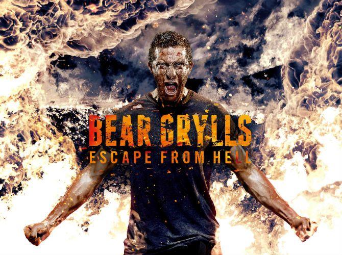 Când am timp, mă uit la Bear Grylls pe Discovery