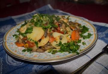 legume la tigaie