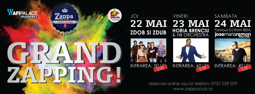 Lansarea Zappa Club & Lounge în Afi Palace Ploieşti