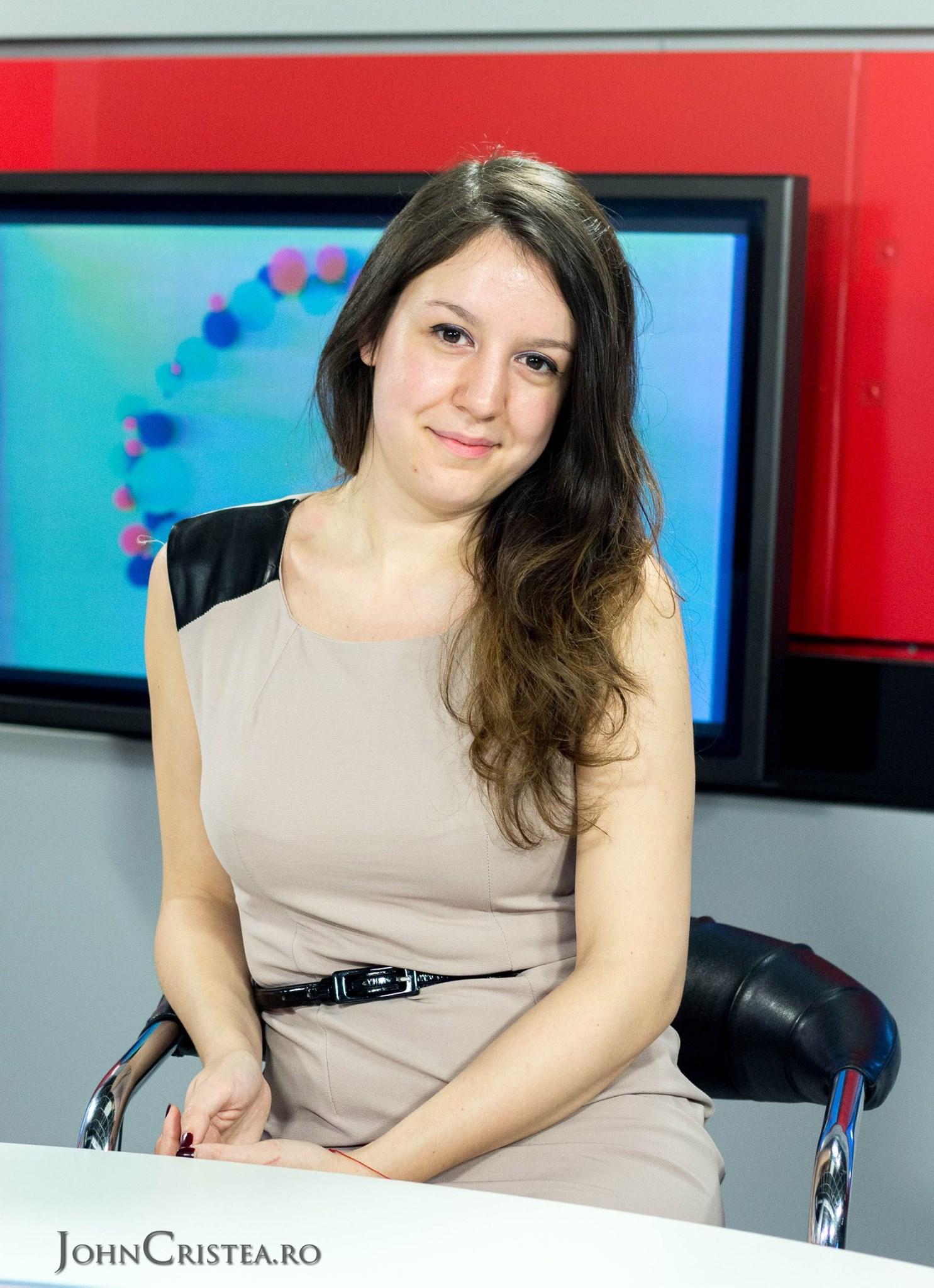 Luiza Ivan, studenta Cluj