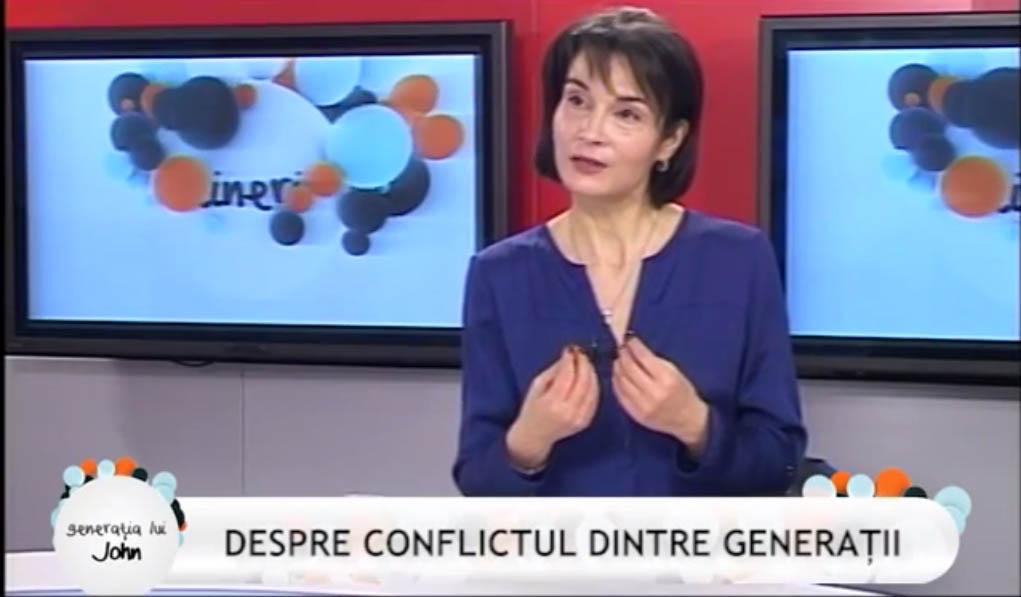 Zoia Zărnescu în emisiunea Generaţia lui John