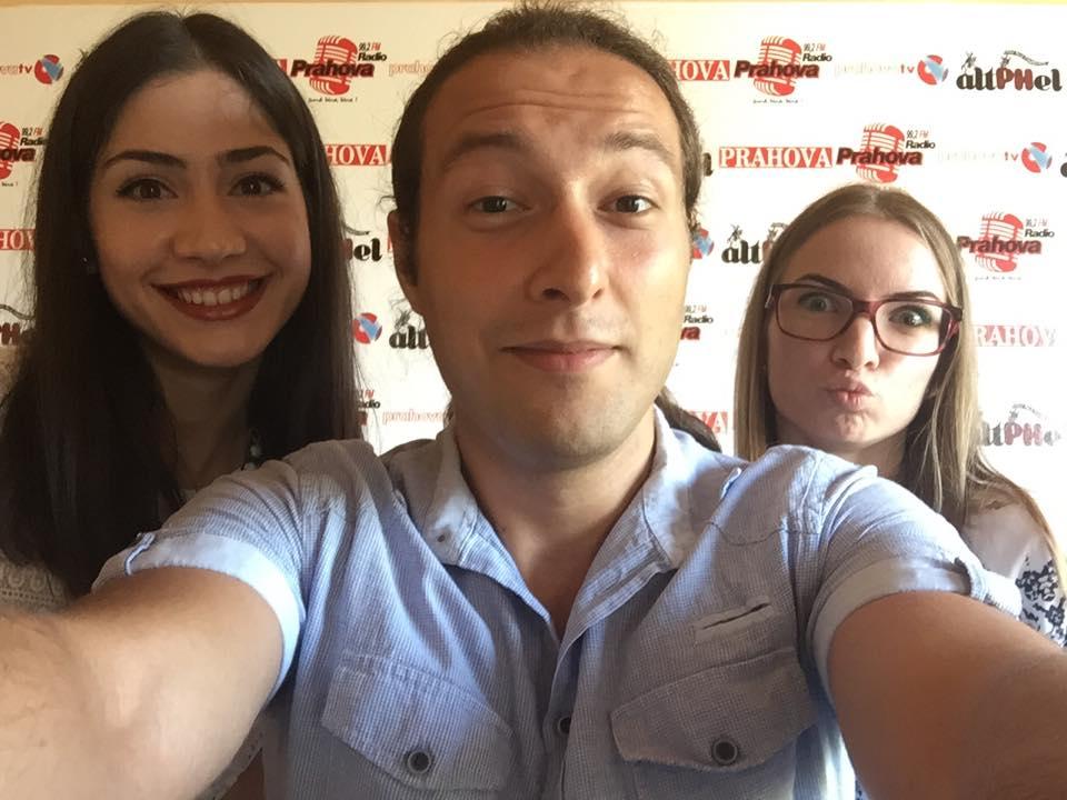 Selfie cu cele două prahovence care au luat media 10 la bacalaureat