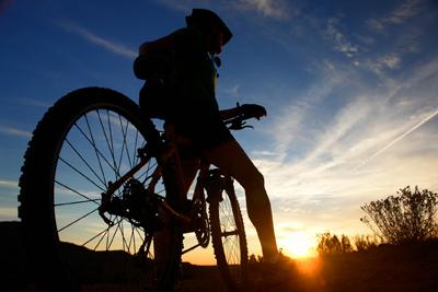 Am învăţat târziu să merg pe bicicletă