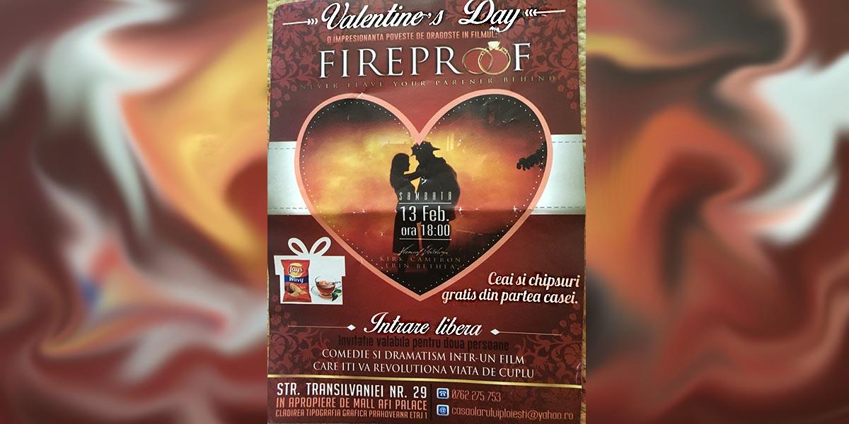 Valentine's Day, ceai şi chipsuri gratis, intrare liberă…