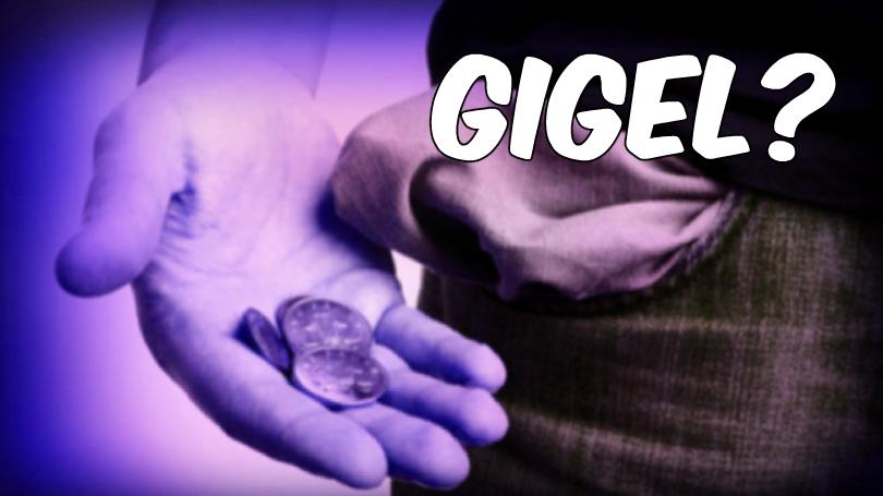 Gigel s-a întors, dar n-a avut bani să facă cinste
